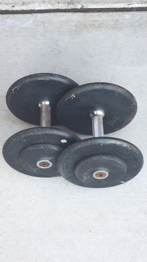 25lb Weight Pro-Style Dumbbells Pair for Sale in Las Vegas, NV