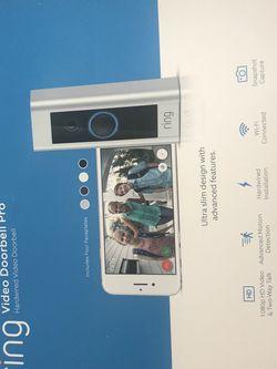 New Ring Video Doorbell Pro for Sale in San Bernardino,  CA