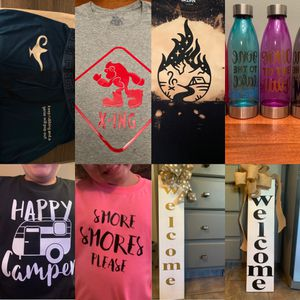 Customized clothing signs water bottles anything for Sale in Cuyahoga Falls, OH