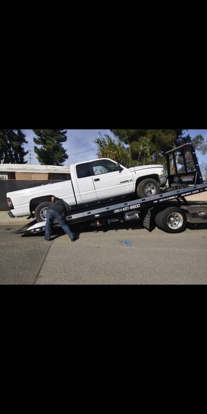 98 Dodge Ram 1500 this truck is free if you want it for parts it's red and color same truck for Sale in Riverside, CA