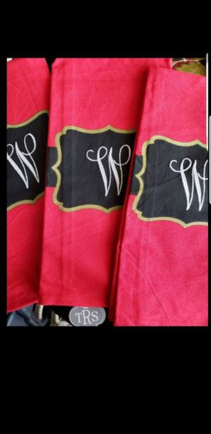 Monogrammed Hand Towels for Sale in Panama City, FL