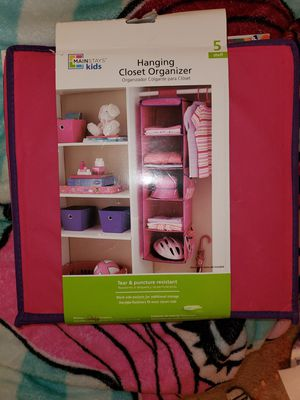 Hanging closet organizer for Sale in Arlington, TX