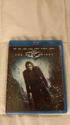 The Dark Knight Bluray Disc for Sale in Charleston, WV