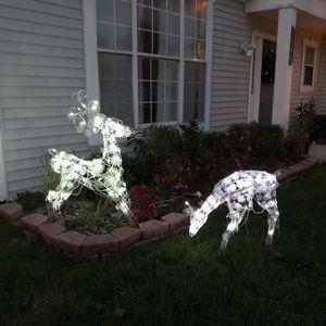 2 Lighted Reindeer for Sale in Chesapeake, VA
