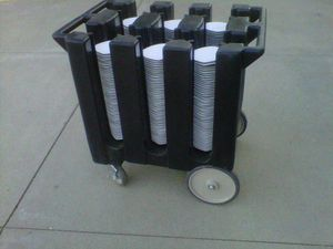 Cambro industrial commercial dish caddy for Sale in New Bedford, MA