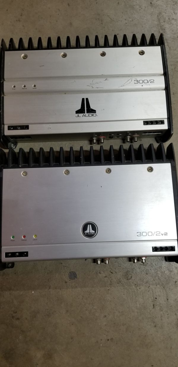 2 JL Audio amplifiers 300x2