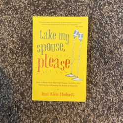 Take My Spouse Please Book for Sale in San Jose,  CA