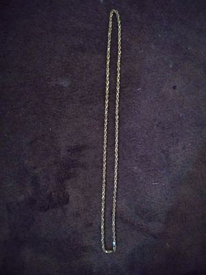 10k gold rope chain for Sale in Long Beach, CA