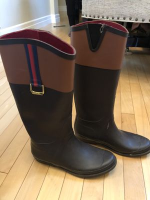 Tommy Hilfiger rain boots. for Sale in Mill Creek, WA
