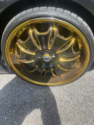 22 inch Asanti rims for Sale in Severn, MD