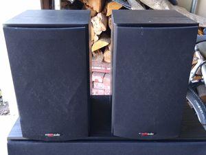 Polk audio T15 , 100 watt home theatre book shelf speakers for Sale in San Marcos, CA