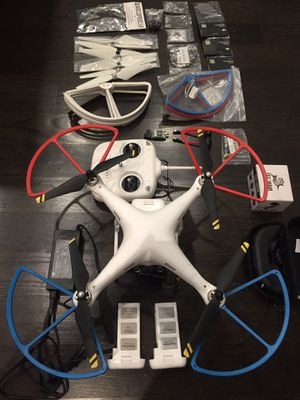 DJI Phantom 2 Drone with GoPro Hero 4, Fat Shark Goggles and numerous additional supplies and parts for Sale in Chicago, IL