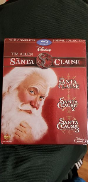 Santa Clause Blu Ray Set for Sale in Chicago, IL
