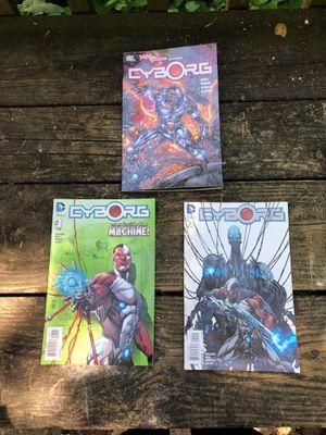 Teen Titan Spotlight: Cyborg/2 Cyborg Comics. Man inside the machine for Sale in North Bethesda, MD