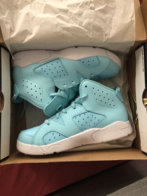 Used, Baby blue Jordan's size 2.5 for Sale for sale  Bronx, NY