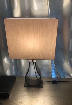 IKEA modern lamps (2) come with GE LED bulbs for Sale in Round Rock, TX