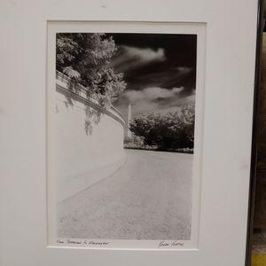Karen Keating, Black and white framed photo, Jefferson To Washington for Sale in Lorton, VA