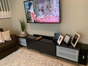 Sofa bad / 60 inches LG TV/ and TV rack for Sale in Hollywood, FL