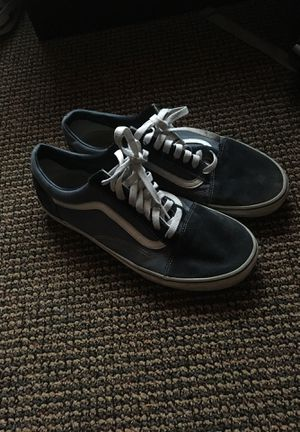 Low top Vans Blue denim for Sale in Rochester, NY