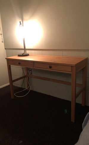 Wooden desk and chair for Sale in San Diego, CA