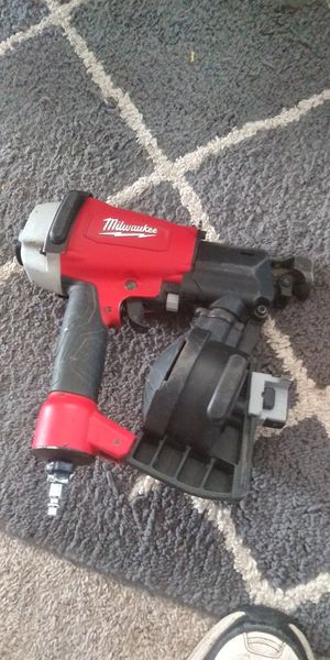 Milwaukee coil nailer for Sale in Tacoma, WA