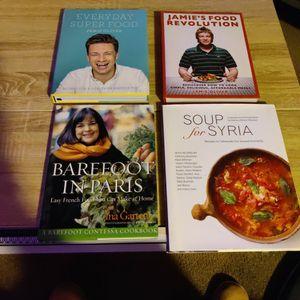 4 Nearly New Popular Cookbooks! Hardbacks!!! for Sale in San Diego, CA