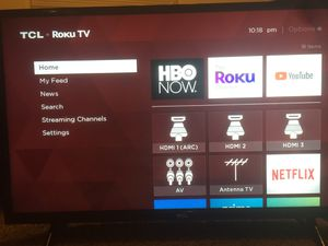TCL Roku smart tv for Sale in Shelbyville, IN