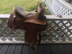 Barrel saddle for Sale in Montgomery, TX