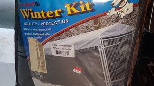 Weather protection for outside dog kennel for Sale in Portsmouth, IA