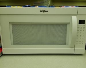 Microwave white for Sale in West Park, FL