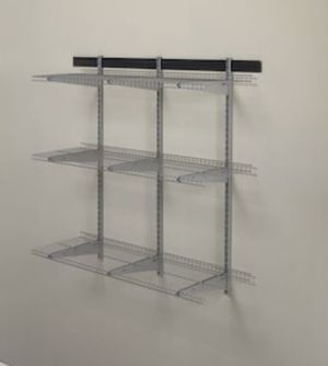 Shelving -Wire/vinyl coated, one 6ft, one 5ft , four 4ft for Sale in Waimea, HI