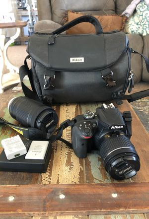 Nikon 3400 starter kit for Sale in Pinon Hills, CA
