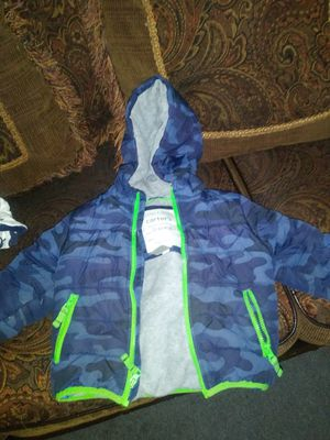 3t carters winter coat for Sale in Concord, MA