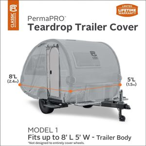 New in box Teardrop trailer cover for Sale in Kent, WA