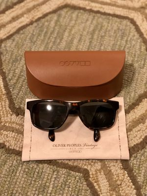 Oliver Peoples Sunglasses for Sale in Bethesda, MD