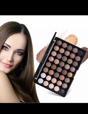 New 40 Colors Eye Makeup Nudes Palette Matte Eyeshadow Naked Beauty Powder Eye Shadows Earth Pearl Shimmer Cosmetic for Sale in Huntington Beach, CA