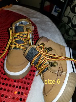 Toddler boots size 6c for Sale in St. Cloud, MN