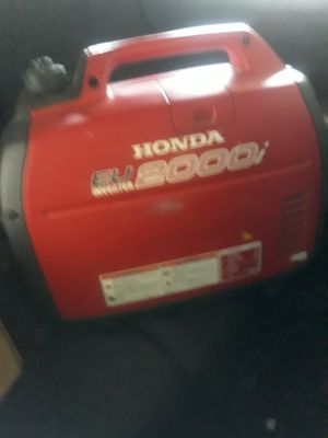 Honda EU inverter 2000 for Sale in Stockton, CA