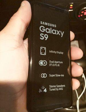 Samsung Galaxy s9 factory unlocked 64GB great shape for Sale in North Miami Beach, FL