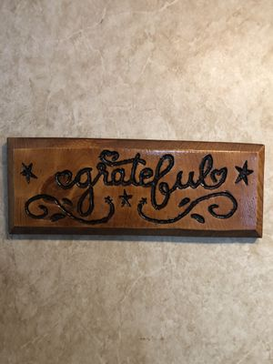 Wood Frame Grateful for Sale in Clarksburg, WV
