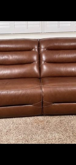 Sofa and Dual Love Seat Recliner Set for Sale in Dearborn,  MI