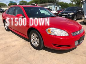 2013 Chevy Impala for Sale in San Antonio, TX