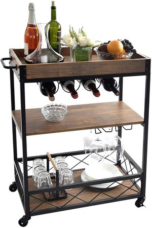Charavector Wine Cabinet/Cart for Sale in Clovis, CA