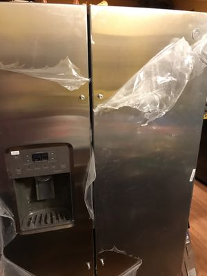 ENERGY STAR® 25.3 Cu. Ft. Side-By-Side Refrigerator for Sale in Gaithersburg, MD