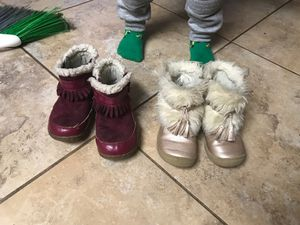 Boots size 8 toddler for Sale in Sedro-Woolley, WA