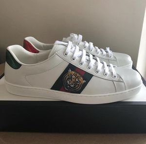 Gucci Ace Tiger Sneakers Size 9.5 for Sale in Murray, UT