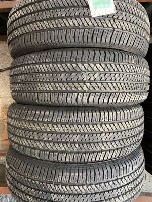 255/70/18 BRIDGESTONE H/T 65,000 MILE TIRES for Sale in Arlington, TX
