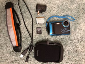 Fujifilm digital camera (shockproof, waterproof, and dustproof) for Sale in Raleigh, NC