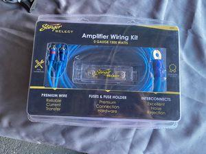 Stinger zero gauge wiring kit for Sale in Modesto, CA