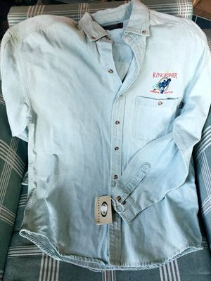 New fishing style shirt from Kingfisher for Sale in Missoula, MT